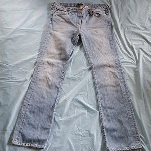 Sexy fitting distressed jeans